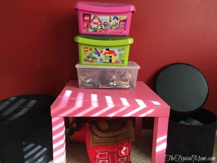 Organizing your kids room
