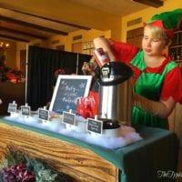 Downtown Disney breakfast with Santa