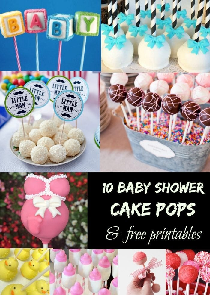Baby Shower Cake Pops The Typical Mom