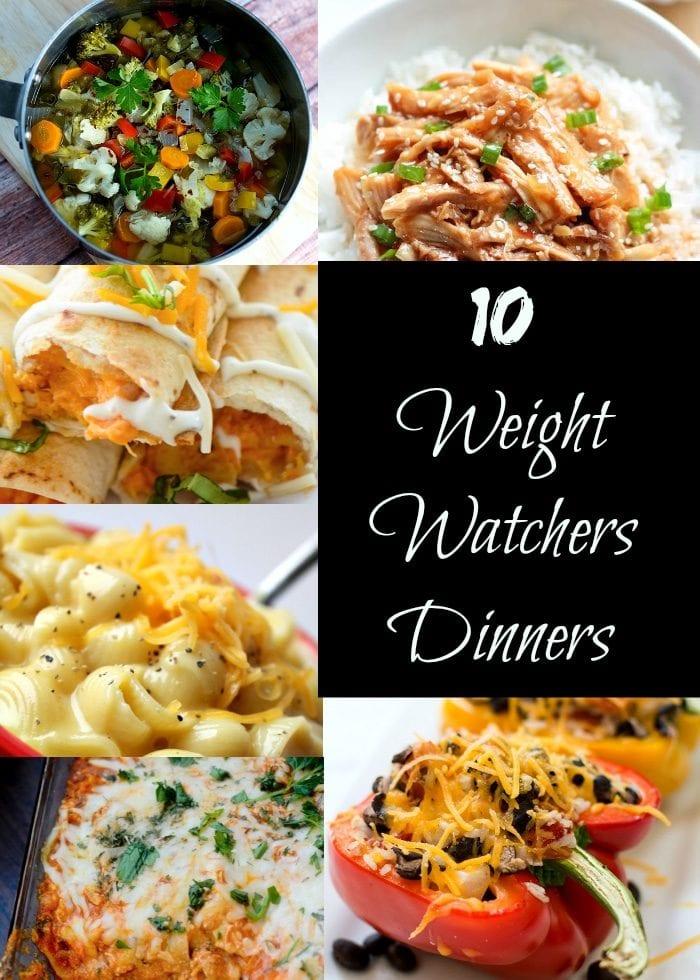 weight watchers dinner recipes