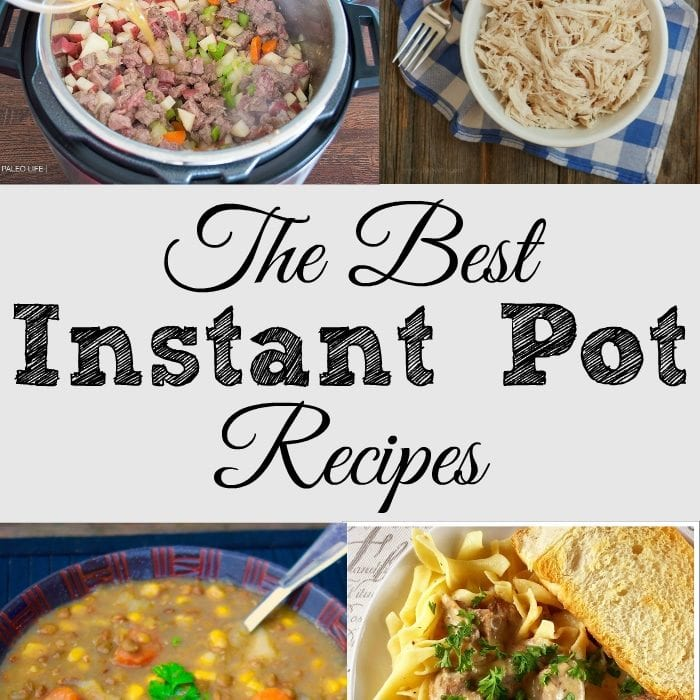 The Best Instant Pot Recipes Of 2018: The Best Instant Pot Recipes For Busy Moms · The Typical Mom