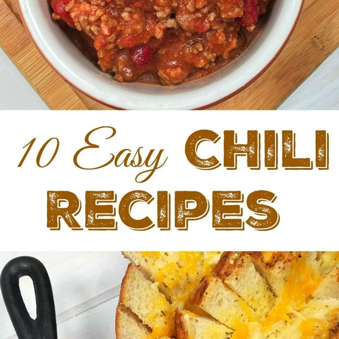 10 slow cooker chili recipes.
