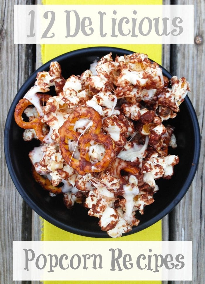 sweet popcorn recipes