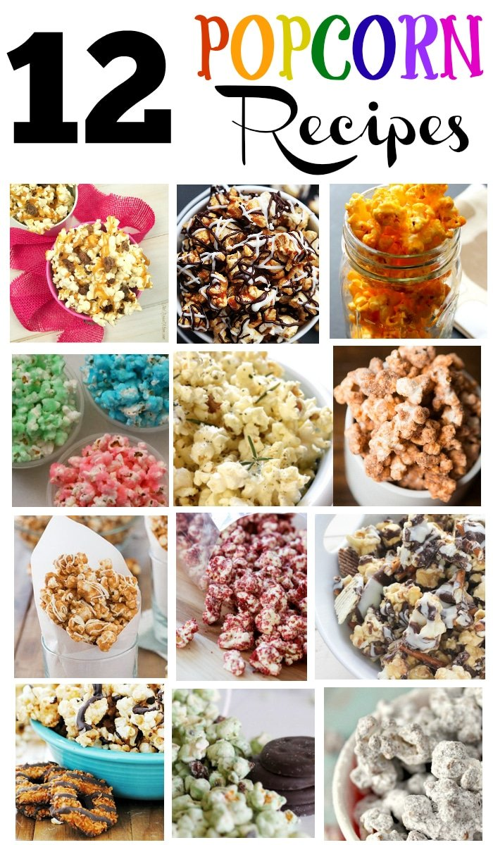 Flavored Popcorn Recipes · The Typical Mom