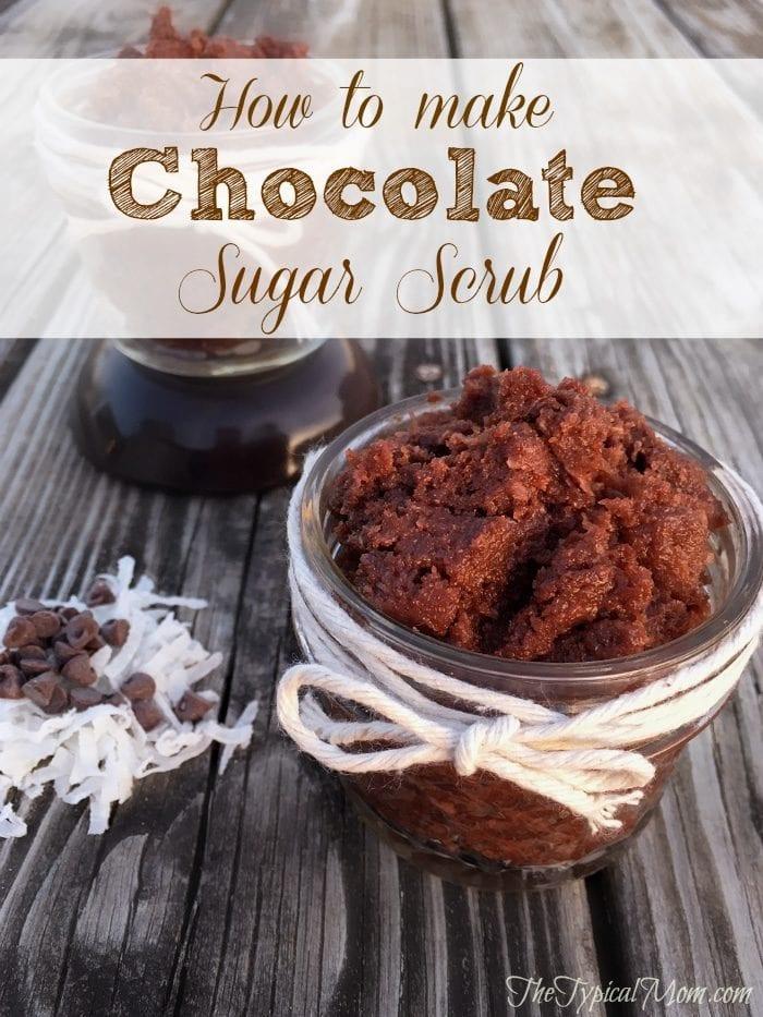 how to make sugar body scrub