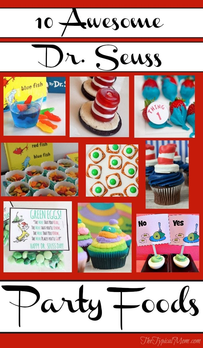 dr seuss party food