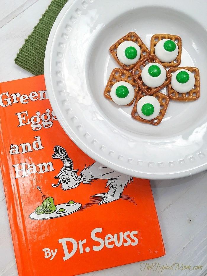 green eggs and ham treat