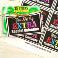 Extra Special Valentine's Day Printable