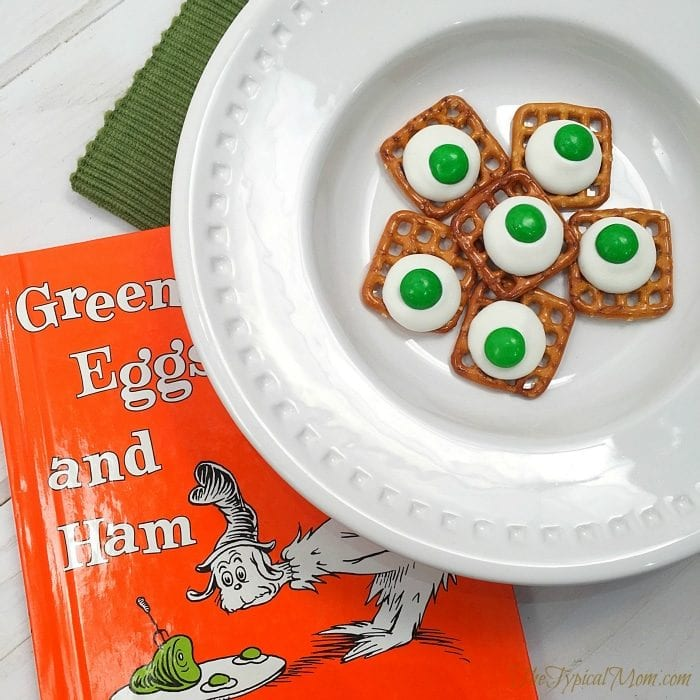 Green eggs and ham treat