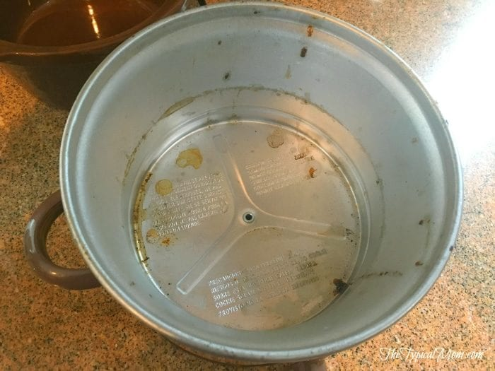 How to clean the inside of your slow cooker.