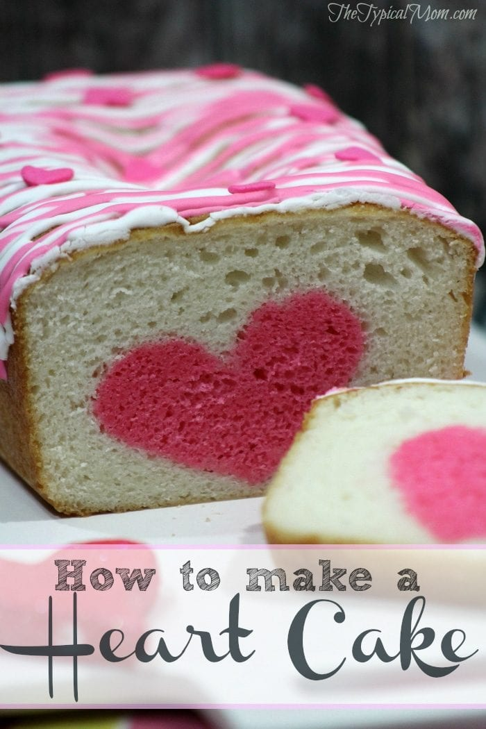 How To Make Surprise Heart Inside Cake