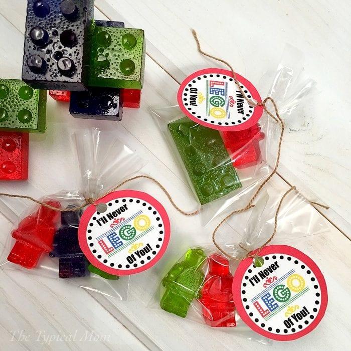 printable Lego Valentines