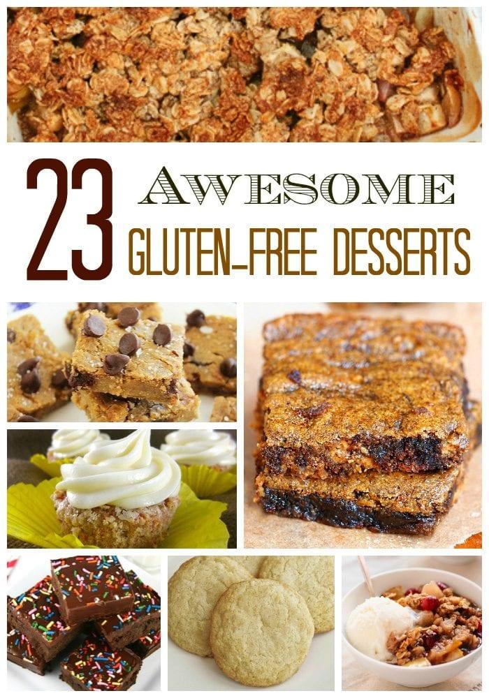 gluten free dessert recipes