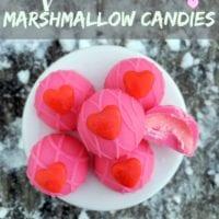 Valentine Marshmallow Candies