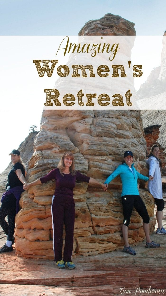 Zion Ponderosa Women's Retreat is just outside of Zion National Park, and here is a special to take advantage of so you can attend too.