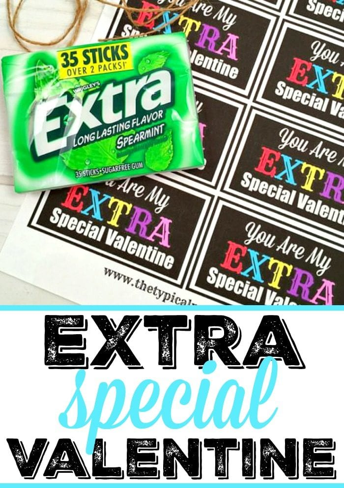 Extra Special Valentine's Day Printable 2