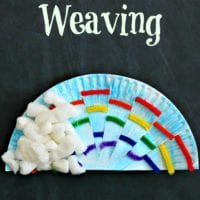 Rainbow weaving art