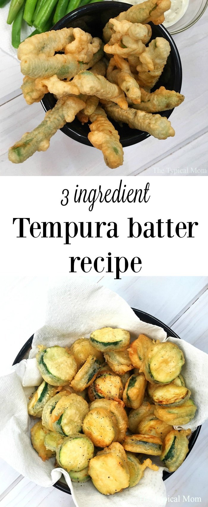 3 Ingredient Recipe For Tempura Batter The Typical Mom
