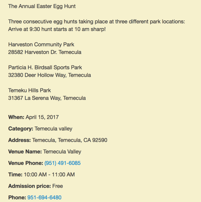 temecula easter egg hunt