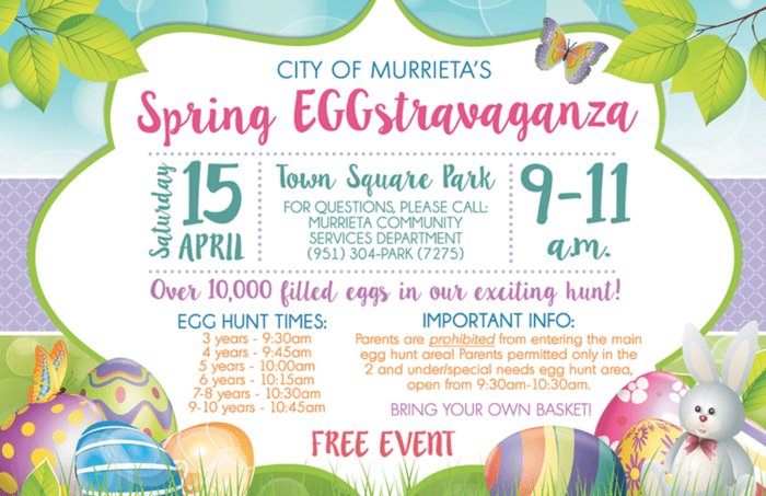 murrieta easter egg hunt