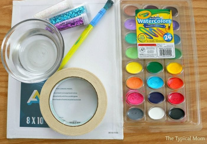 Watercolor activities