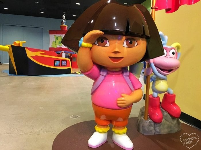 Dora at Discovery Cube