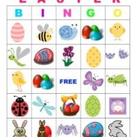 picture about Free Printable Easter Bingo Cards titled bingo Archives · The Traditional Mother