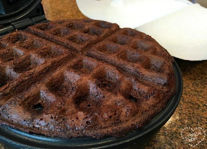 brownie waffle recipe