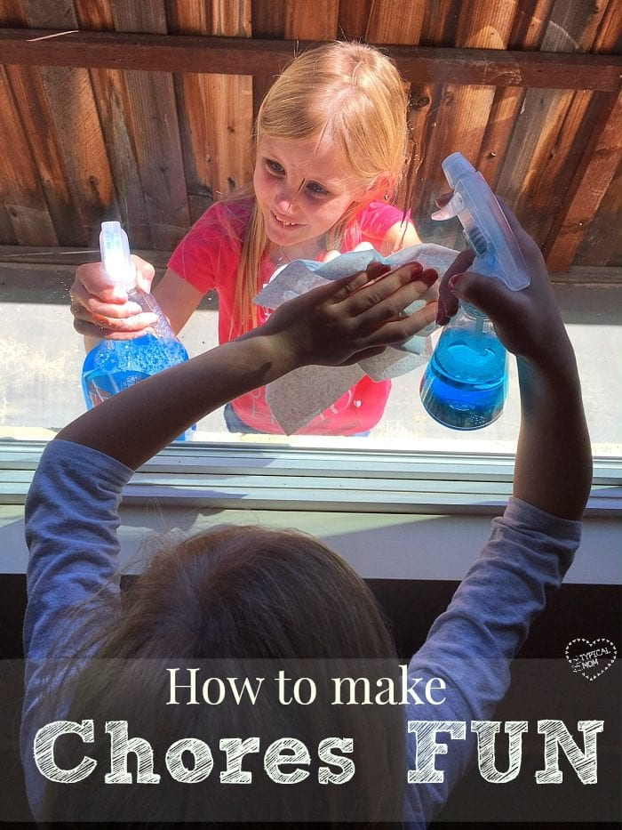 Making chores fun for kids