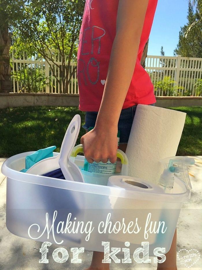 making chores fun