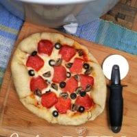 Crock Pot pizza