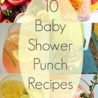 The Best Baby Shower Drinks