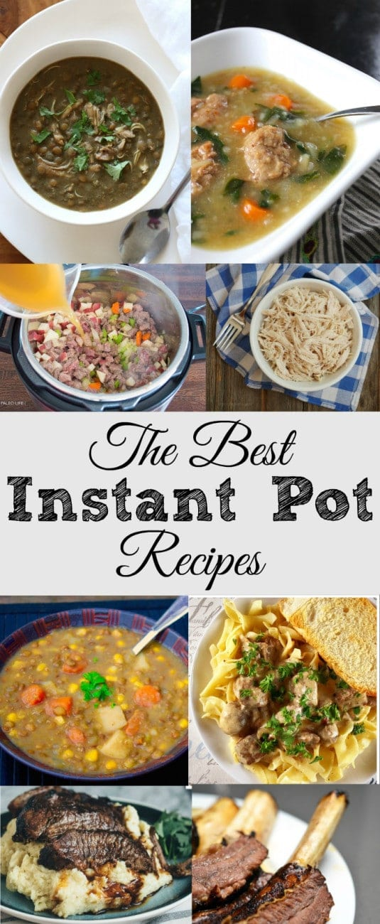 The best instant pot recipes · The Typical Mom