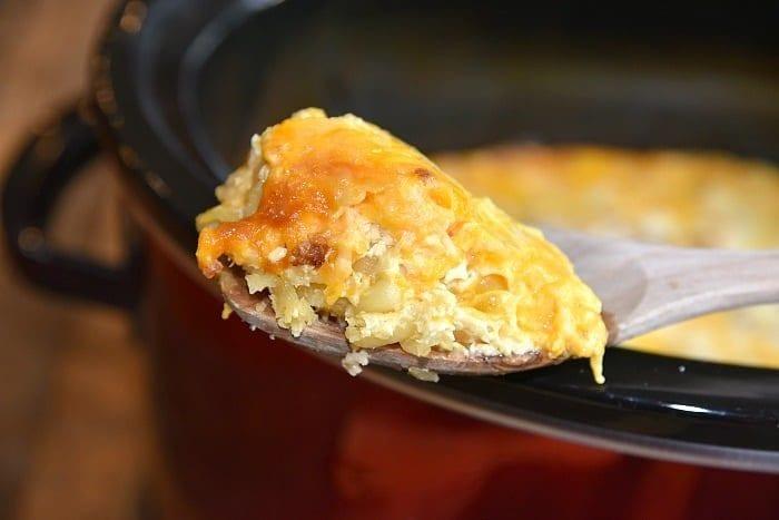 easy crockpot macaroni and cheese
