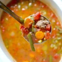 Easy Crock Pot Vegetable Beef Soup