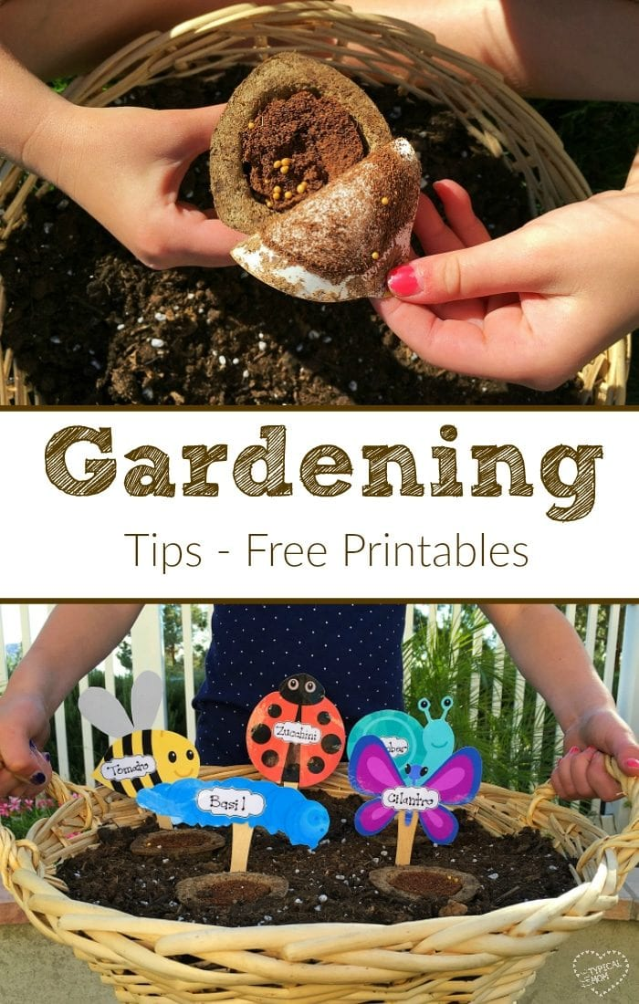 Garden ideas for kids the typical mom for Gardening tips for kids