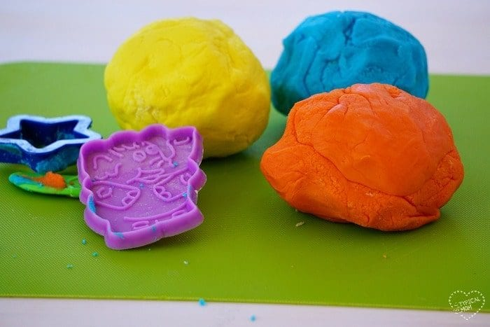 Easy edible playdough recipe