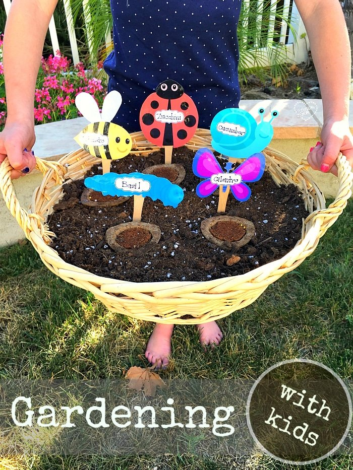 Garden ideas for kids the typical mom for Garden designs for kids