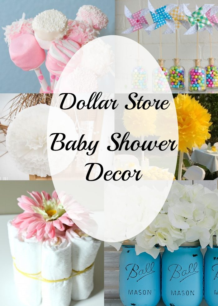 inexpensive baby shower centerpiece and decor ideas all items can be