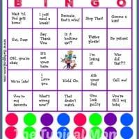 Mom Bingo Printable