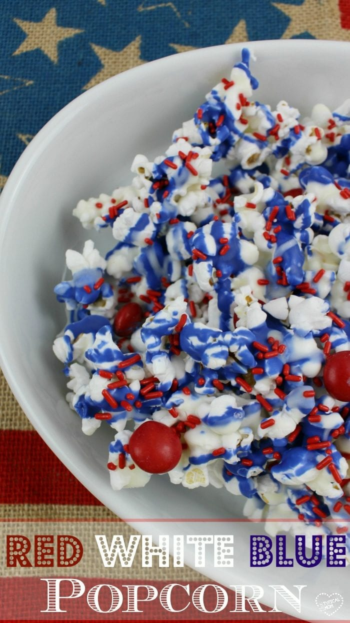 Red White And Blue Popcorn 183 The Typical Mom