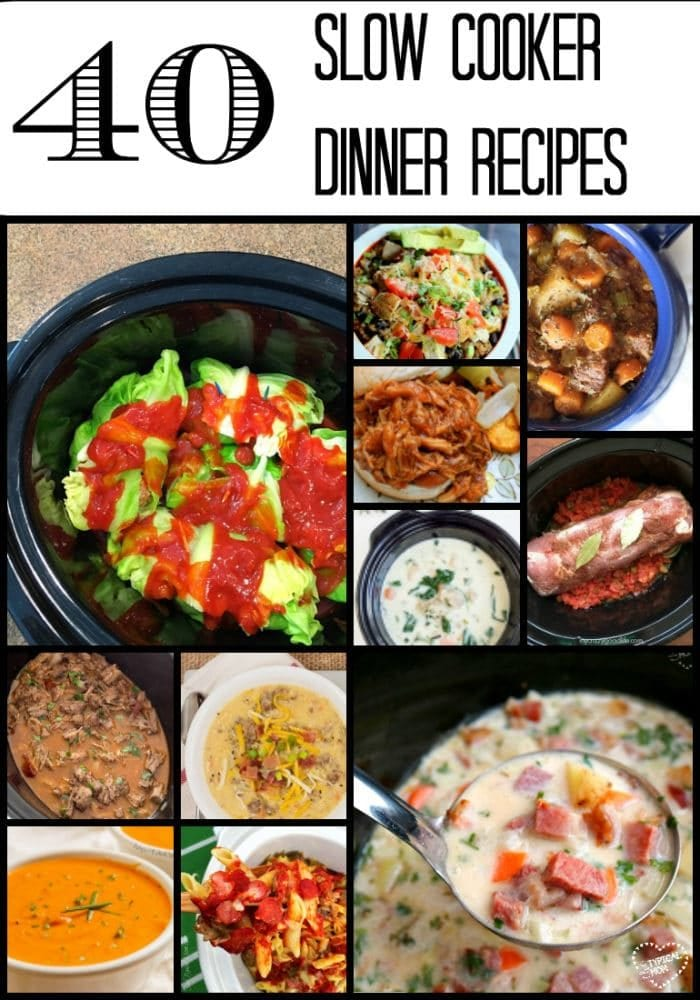 42 Easy Slow Cooker Recipes The Typical Mom