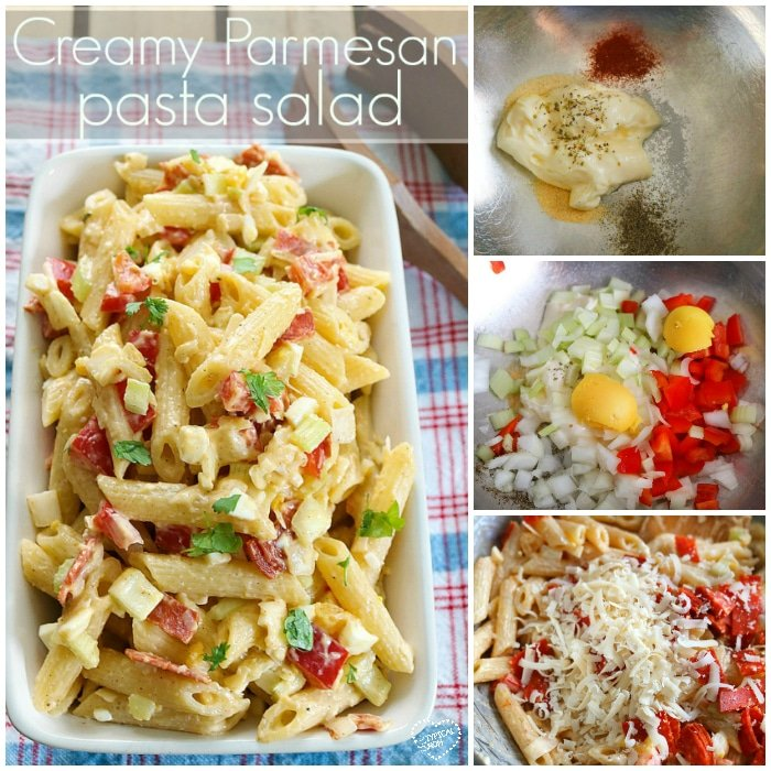 how to make creamy pasta salad