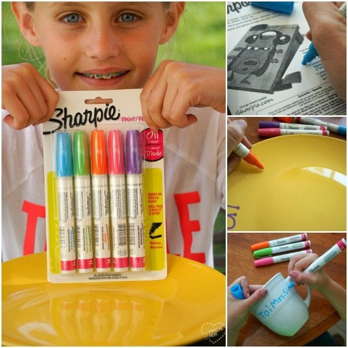 Easy sharpie crafts for kids.