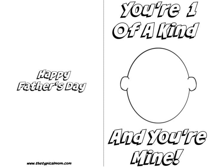 graphic about Father's Day Printable named Absolutely free printable Fathers Working day card · The Standard Mother