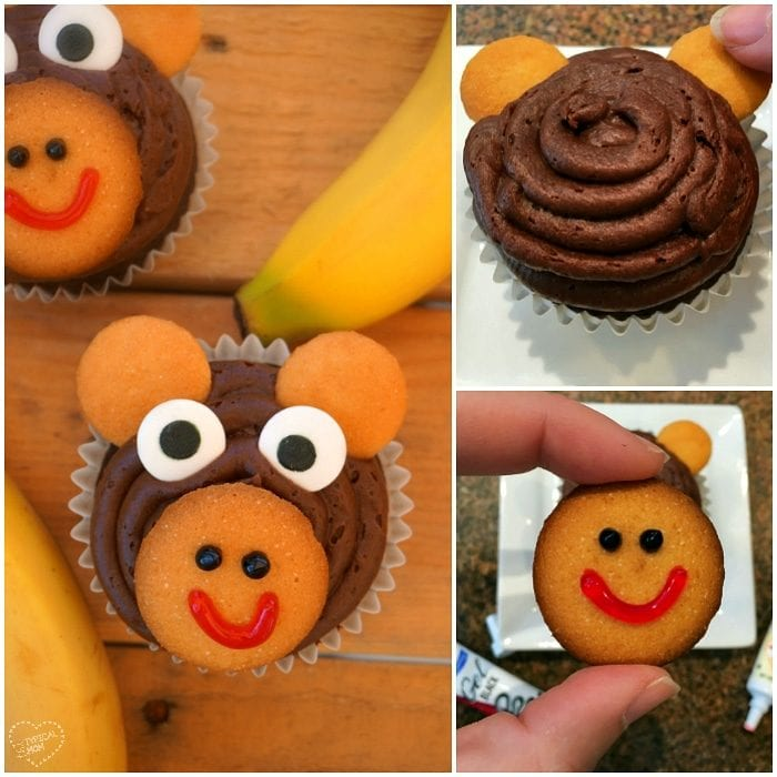 How to make monkey cupcakes!!