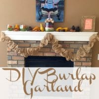 How to Make Burlap Garland