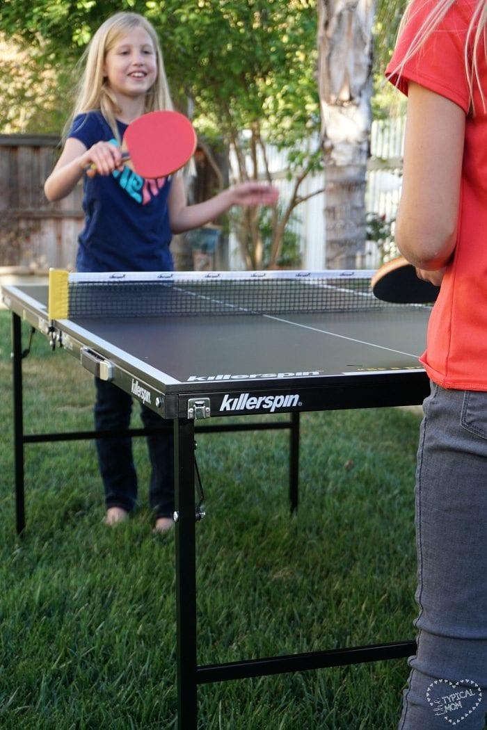 Killerspin mini ping pong table