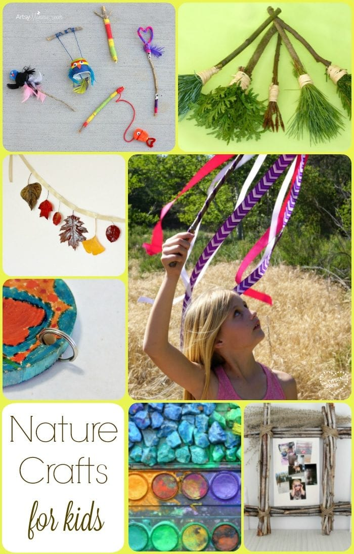 Nature crafts the typical mom for Nature crafts for kids