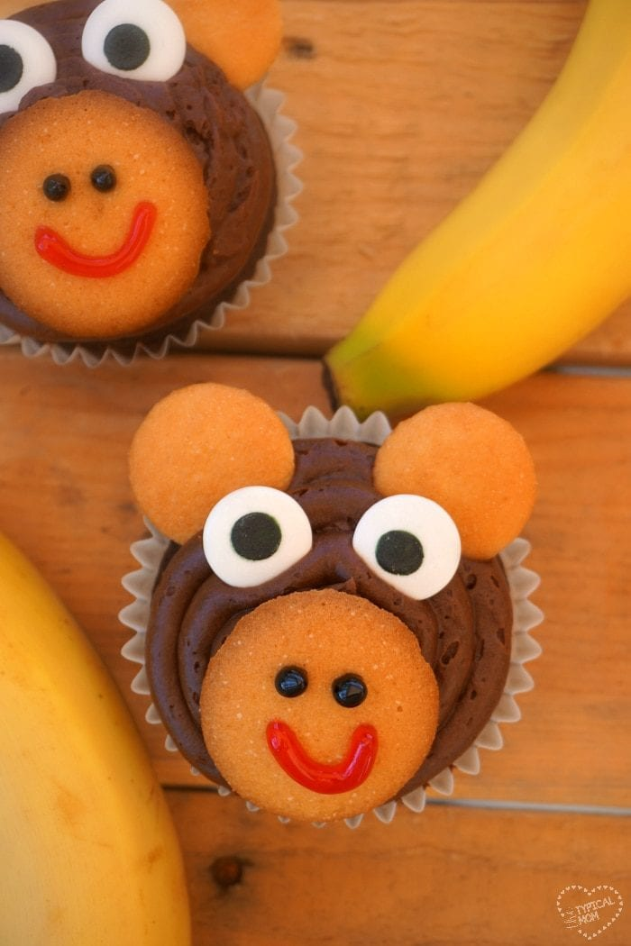 Monkey cupcakes The Typical Mom